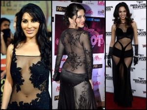 Indian Bollywood Actress Transparent Dress