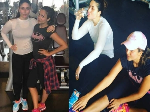 Amrita Arora Shared Videos Kareena Kapoor Working