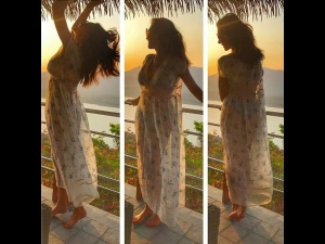 Holiday Diaries Check Out Lisa Ray Chilling At A Resort In Pune
