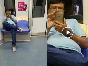 Shameless Man Secretly Films Girl On Moving Train