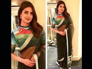 Priyanka S Royal Outfit At Unicef Fundraising Event