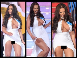 Chanelle Mccleary Suffers An Epic Wardrobe Malfunction
