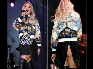 Louisa Johnson S Wardrobe Malfunction At Live Performance