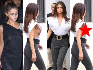 Selena Gomez Suffers Wardrobe Malfunction