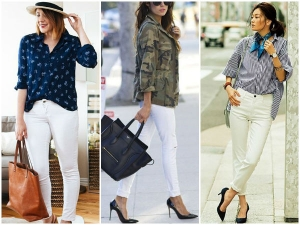 How Style Look Classy White Denim