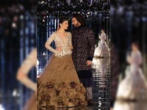 Alia Bhatt Ranveer Singh Turn Showstoppers Manish Malhotra