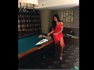 Iifa Moments Katrina Kaif Looks Sexy In Red