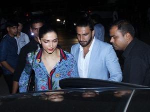 Ranveer Deepika Are Having Gala Time At Dinner Date