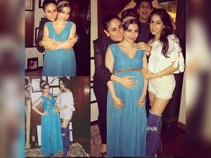 Soha Ali Khan S Ravishing Maternity Style Seems Be Bebo Inspired