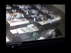 Teacher Beats 7 Year Old Lucknow Private School
