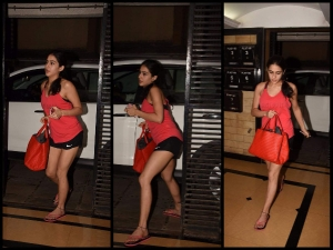 Sara Ali Khan Finishes Up Good Day S Work Style