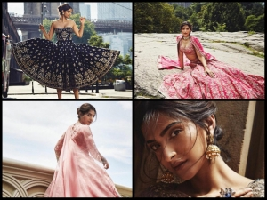 Sonam Kapoor Makes Beautiful Fashionable Bride Anita Dongre
