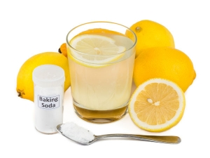 Dip Half Lemon Baking Soda See Its Health Benefits