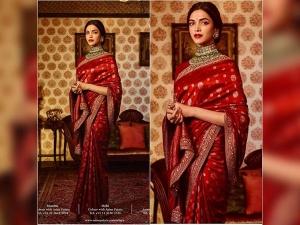 Deepika Royal Look From Sabyasachi