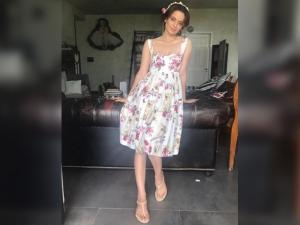 Kangana Ranaut Styled As Princess Simran Promotions