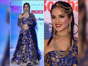 Sunny Leone Walked Gracefully At The Bombay Times Fashion Week 2017