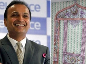 Anil Ambani Decorated His Home With Notes 2000 500
