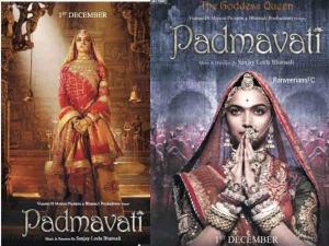 Padmavati First Posters Are Deepika Padukone S Navratri Gift