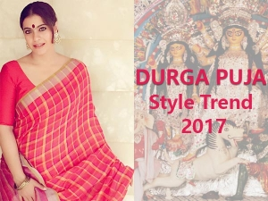 Durga Puja 2017 Will Be All About These Trends