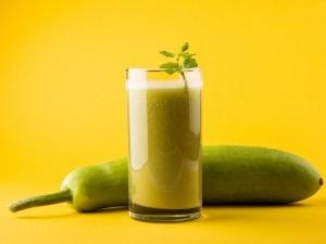 Health Benefits Drink Bottle Gourd Juice With Ginger 6 Weeks