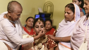 Young Widow Remarried Vrindavan This Diwali