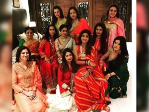 Anil Kapoor S Wife Sunita Kapoor Throws A Karva Chauth Party At Her Residence View Pics