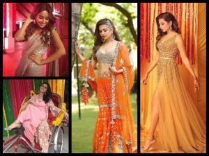 Sargun Mehta Asha Negi Ridhi Dogra Show Us How Dress This Festive Season