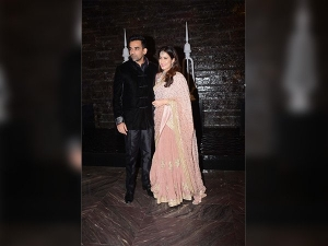Sagarika Ghatge Zaheer Khan Maintained Simplicity Their Wedding Party Looks