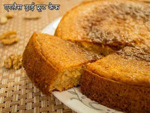 Eggless Dry Fruits Cake