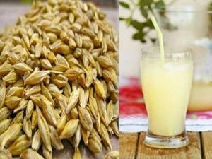 Top Ten Health Benefits Barley Water