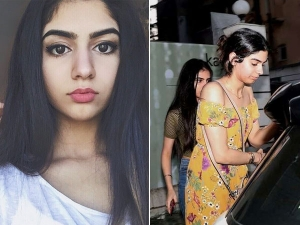 Khushi Kapoor Spotted Outside Spa Without Make Up