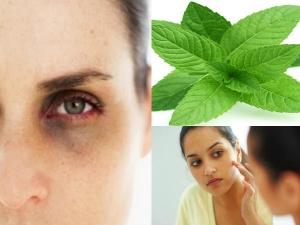 Ways On How Use Mint Leaves Dark Circles Under Eyes