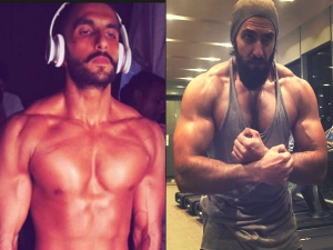 Get Shape With Ranveer Singh S Insane Alauddin Khilji Workout