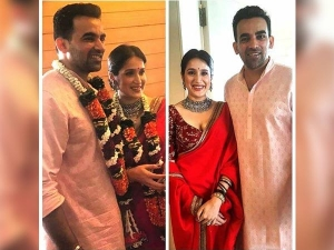 Zaheer Khan And Sagarika Ghatge Got Hitched In Simple Wedding Attires