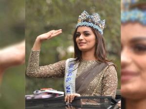 Manushi Chillar Became The Royal Diva At A Parade In New Delhi