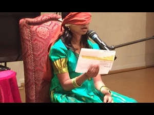 Astonishing Girl Who Can Read Blindfolded After Activating Her Third Eye