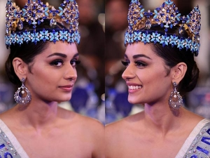 Manushi Chillar Looked Gorgeous At The Indian The Year Award