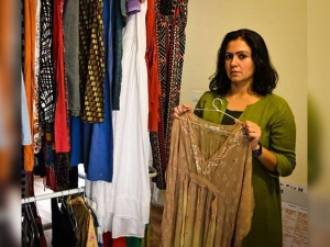 This Woman Collecting Clothes To Share Stories Of Sexual Abuse