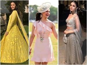 Alia Bhatt Teaches You Ways Be Stylish On Your Besties Wedding