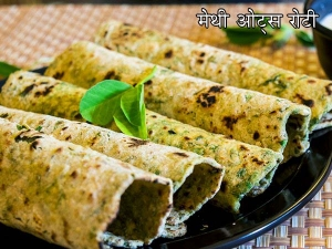 Methi Oats Roti