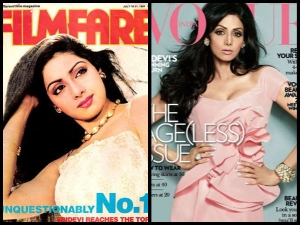 From Filmfare Vogue Check Sridevi Style Transformation Over The Years