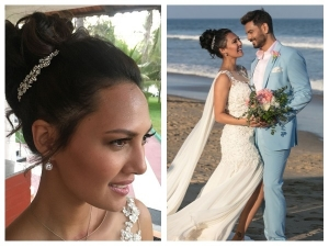Rochelle Rao S Wedding Dress Was Totally Classic Sexy Too