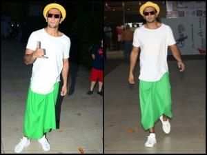 Ranveer Singh Wear Skirt On Women S Day