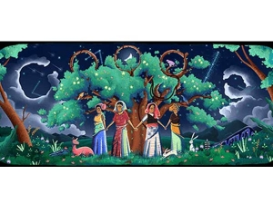 Google Celebrating 45 Anniversary The Chipko Movement With Doodle