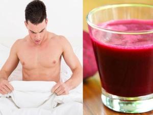 Glass Beetroot Juice Works Just Like Viagra