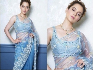 Kangana Ranaut S Anita Dongre Sari Is Perfect A Wedding