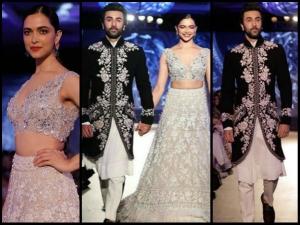 When Exes Ranbir Kapoor Deepika Padukone Walked Mijwan 2018