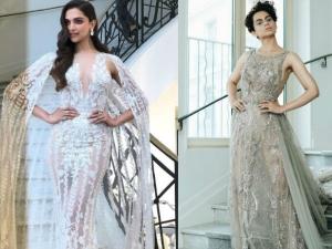 Cannes 2018 Deepika Padukone Or Kangana Ranaut Who Wore The Sheer Zuhair Murad Creation Better