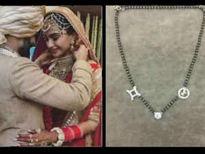 Sonam Kapoor S Mangalsutra Is Personalised And Designed By Herself
