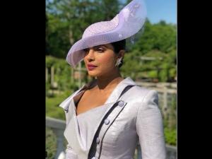 Priyanka Chopra Looks Elegant Royal As She Arrives At The Royal Wedding